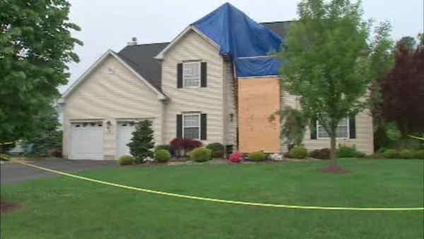 Police captain's home hit by possible firebomb