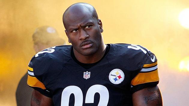 Steelers' James Harrison 'fine' with 'relief pitcher' role as rookies rise up