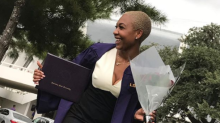 Aspiring lawyer calls herself 'the underdog' after beating all odds to graduate college