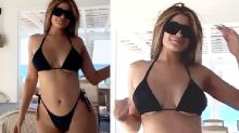 Kylie Jenner quells romance rumours in barely-there bikini