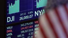 Dow Jones cierra por encima de los 26.000 puntos