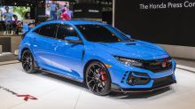 The 2020 Honda Civic Type R drops the fake vents up front, still wildly popular