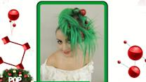 Christmas-Inspired Hairstyles Help Celebrate Holiday Season