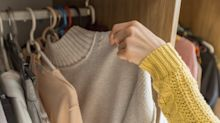 Klamotten-Tricks: Dank Dosenverschluss mehr Platz im Kleiderschrank
