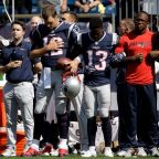 Players Sit, Kneel, Stand in Unity During National Anthem Before Chargers-Chiefs