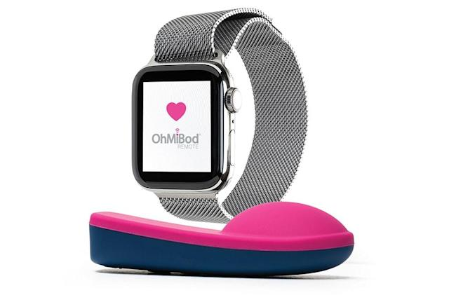 OhMiBod debuts an Apple Watch app for its remote vibrators