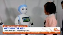 China develops babysitting robot
