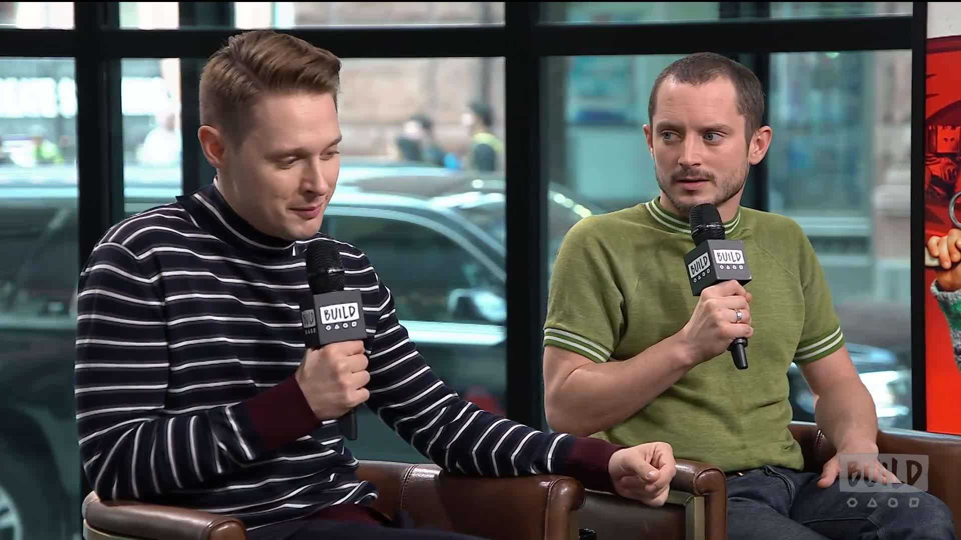 Elijah Wood Samuel Barnett Discuss Trading Roles Video
