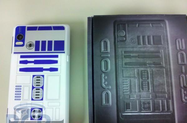 Droid 2 R2-D2 edition dummy units force-arriving at Verizon retail?