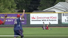 Check Out This Amazing Catch at Wounded Warriors Amputee Softball Game in Ohio
