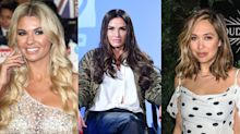 Katie Price, Christine McGuinness and Myleene Klass among celebrity parents marking return to schools