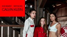 Millie Bobby Brown stars with Paris Jackson in new Calvin Klein campaign and fans can't handle it