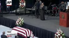 Memorial for US civil rights icon John Lewis held