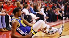 Despite being felled by injury, Kevin Durant still holds the league in his hands