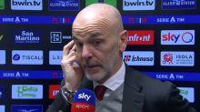 """Pioli: """"Il Milan merita l'Europa. Futuro? Non so cosa succederà"""""""