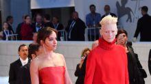 Tilda Swinton and Dakota Johnson Looked Very Powerful at the Venice Film Festival