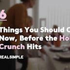 6 Things You Should Clean Now, Before the Holiday Crunch Hits