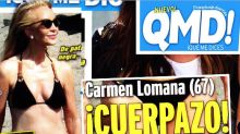 El tipazo de Carmen Lomana a sus 67 años