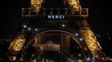 Coronavirus - la tour Eiffel vous dit «Merci»