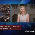 Vote begins on motion to proceeds on health-care in Senat...