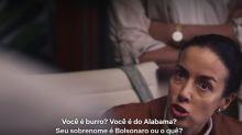 Série da Netflix diz que o sobrenome Bolsonaro é sinônimo de burro