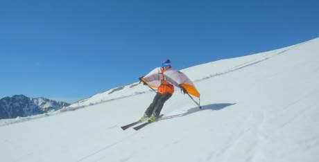 Ski - Le Wingjump, un équipement bientôt sur les pistes de ski ?