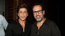 Shah Rukh Khan, Anushka Sharma at Aanand L Rai's birthday party
