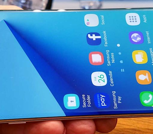 Samsung Galaxy Note7: Water-Resistant and Future-Proof