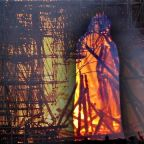 Do You See Jesus Christ Amid Flames of Notre Dame?