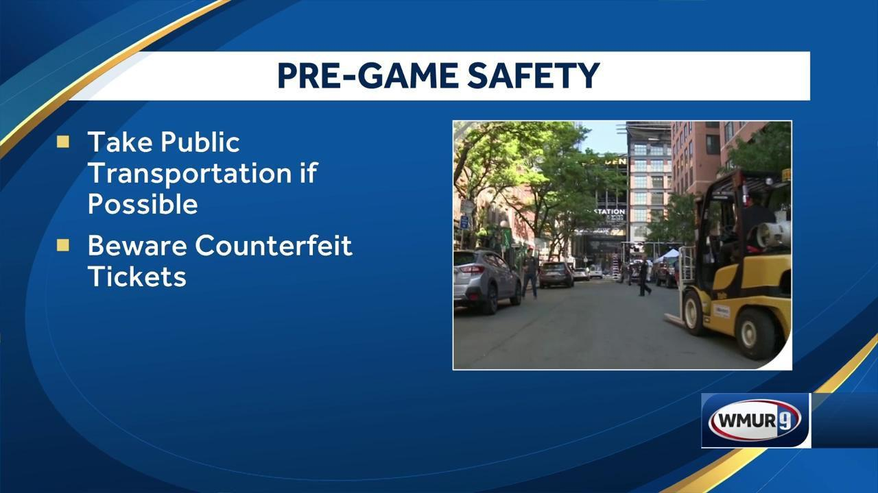 Boston officials detail preparations ahead of Game 7