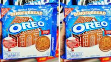 Oreo Has New Gingerbread Cookies That Will Make the Holidays Extra Delicious