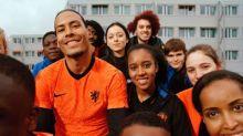 Foot - HOL - Un lion au coeur du nouveau maillot des Pays-Bas