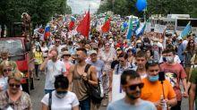 Mass anti-Kremlin rallies grip Russia's Far East