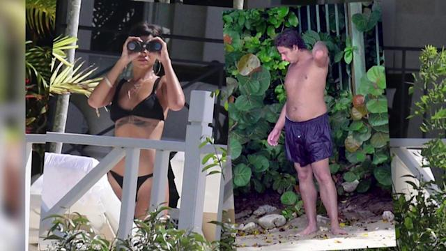 Rihanna Keeps Watch After Alleged Intrusion In Barbados