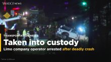 Limo company operator in New York crash charged with homicide
