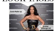 Look des Tages: Rihanna begeistert im Leder-Mini