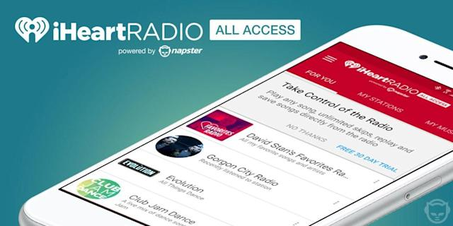 IHeartRadio app gets on-demand features through Napster partnership