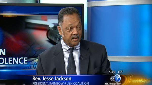 Rev. Jesse Jackson on the increasing gun violence in Chicago