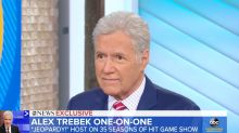 Alex Trebek opens up about cancer treatment: 'I'm fighting through it'