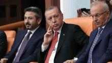 Erdogan blasts opposition for bolstering new party