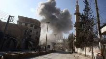 Bombs bring terrifying new routine to Syria's Ghouta