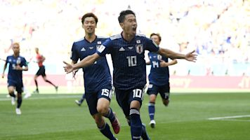 Japão conta com expulsão relâmpago e vence Colômbia