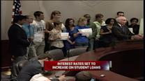 Students, Lawmakers Fight Student Loan Rate Increase