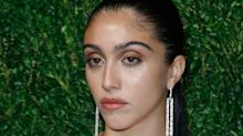 Madonna's 22-year-old daughter Lourdes Leon shows off body hair on the red carpet