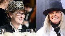 Meryl Streep Dresses Like Diane Keaton