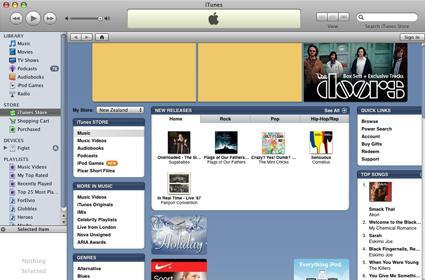 Birth of an iTunes Store