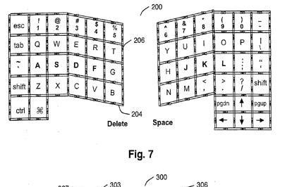 Latest Apple patent app details multitouch tactile keyboard