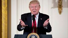 Donald Trump says he may package infrastructure with healthcare or tax reform bill