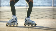 Mustachioed Roller Blading Man's Spins Are Positively Enchanting and the Internet Agrees