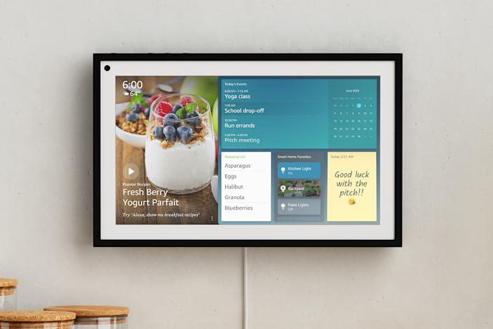 Amazon's $250 Echo Show 15 is a giant smart display for your wall